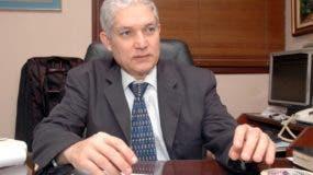 Juan Francisco Puello, presidente de la Confederación de Béisbol Profesional del Caribe (CBPC).