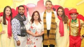Elisa Villalobos, Roberto Caraballo, Carolina Pantaleón, Luis Enciso, Laura Rodríguez y Alexis Jiménez.