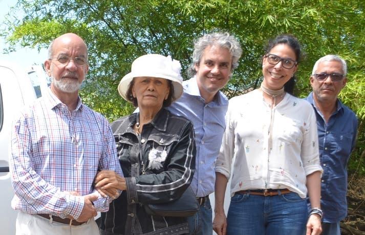 Daniel Pou, Zoila Martínez,  Ioannis Moutafis,  Rosa de los Santos y Fernando Cabrera.