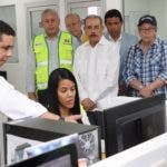 EL presidente Danilo Medina acude casi cada mes a supervisar la obra, sin anunciar el día que irá.
