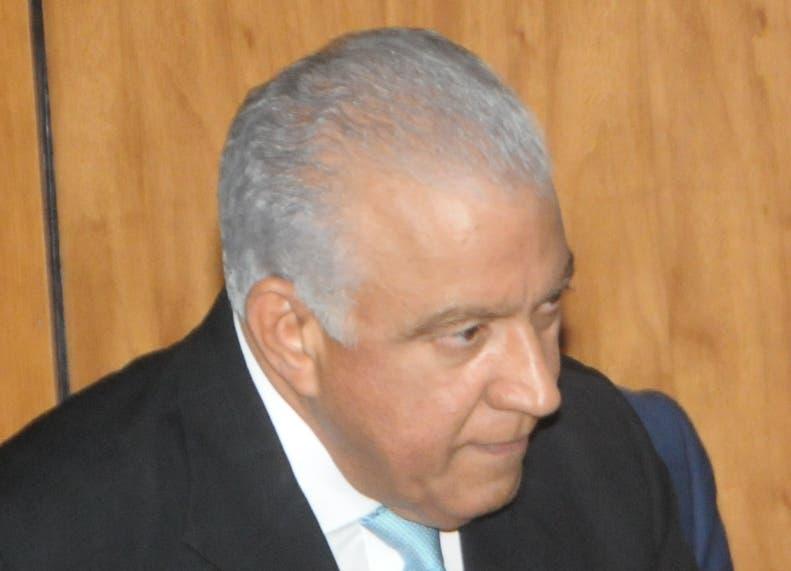 Andrés Bautista, presidente del Partido Revolucionario Moderno. Foto de archivo.