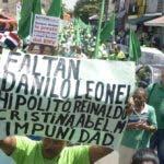 Los residentes apoyaron la protesta de la Marcha Verde.