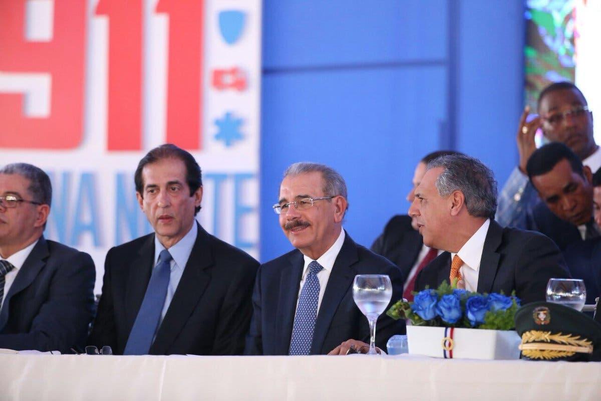 Presidente Danilo Medina inaugura el Sistema 911 en Santiago