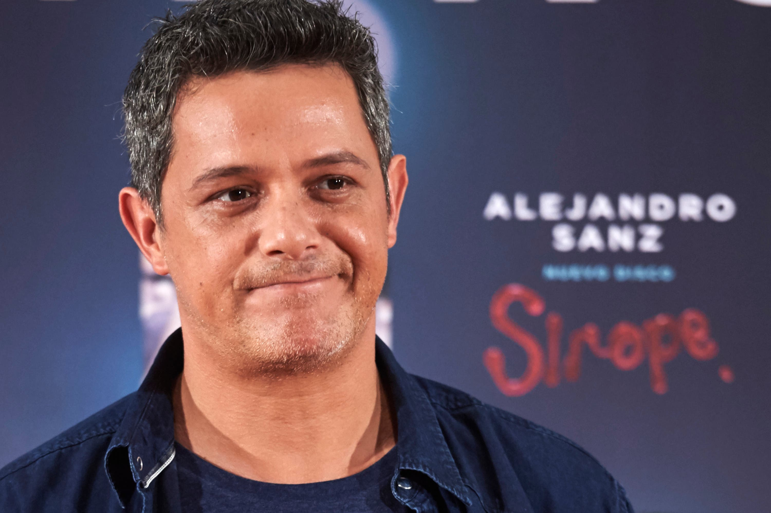 """MADRID, SPAIN - MAY 04:  Spanish singer Alejandro Sanz presents his new album """"Sirope"""" at the Reina Sofia Museum on May 4, 2015 in Madrid, Spain.  (Photo by Carlos Alvarez/Getty Images)"""