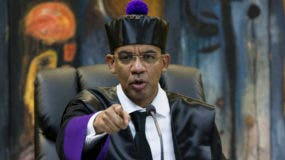 El juez de Instrucción Especial de la Suprema Corte de Justicia (SCJ) Francisco Ortega.