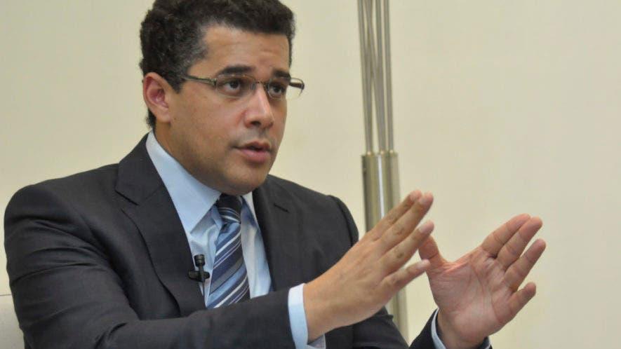David Collado, alcalde del Distrito Nacional.