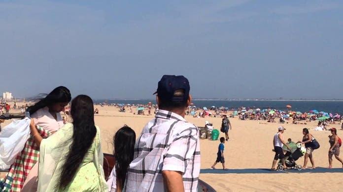 Varias playas frecuentadas por  dominicanos en New Jersey fueron declaradas con alto nivel de contaminación por  bacteria.