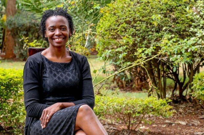 Terry Gobanga tuvo que superar una violación colectiva y, cuando por fin parecía que tenía el viento de lado, la muerte de su marido.