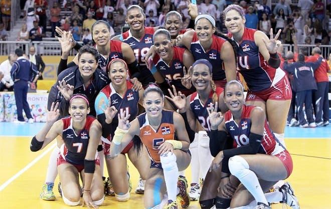 Image result for Seleccion Nacional de Voleibol Femenino de la Republica Dominicana