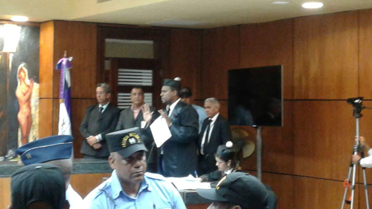 Abogados de Víctor Díaz Rúa presentan sus argumentos.