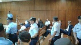 Los acusados llegaron a la SCJ pasadas las 8:00 de la mañana.