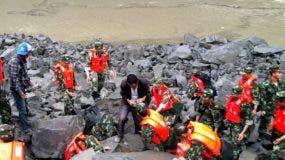 CORRECTION-CHINA-DISASTER-LANDSLIDE