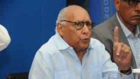 Hugo Tolentino Dipp falleció este lunes a los 88 años de edad.