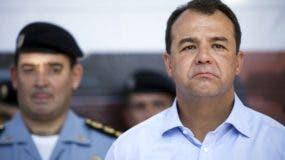 Sergio Cabral. AP/archivo