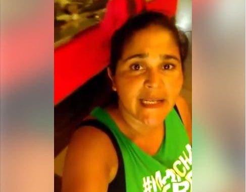 La denuncia la hizo Patricia Báez.