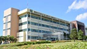 Edificio donde funcionan los ministerios de Medio Ambiente y Turismo.