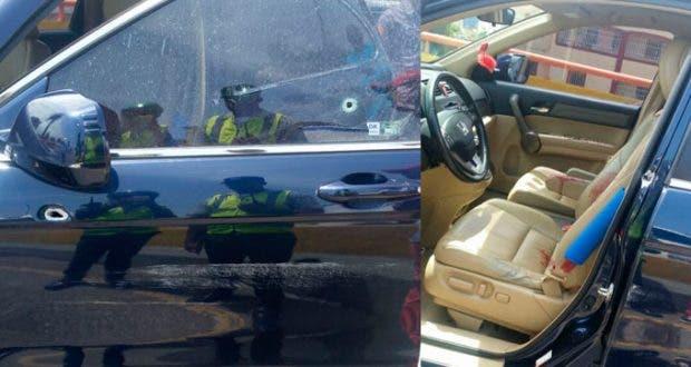 Resultado de imagen para Hombre herido a tiros en elevado de la avenida 27 de febrero