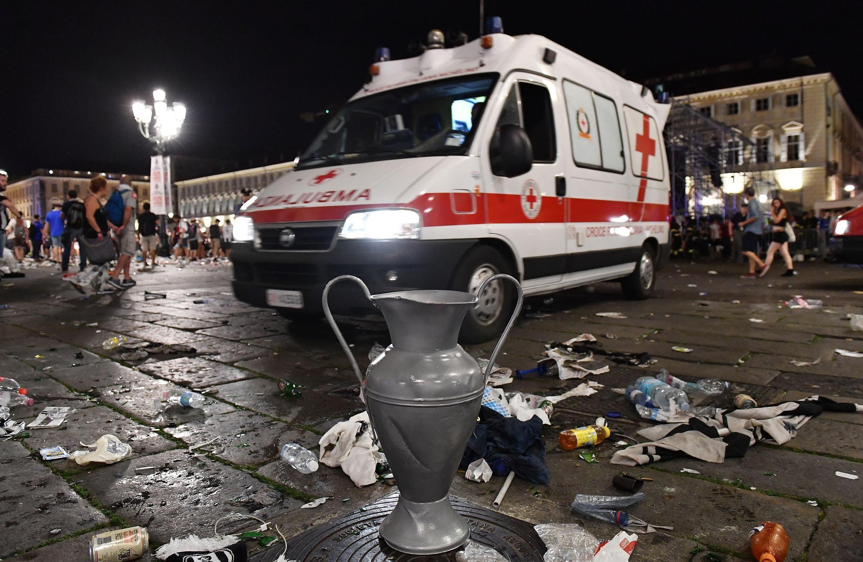 Aumentan a 1.500 los heridos por estampida en Turín