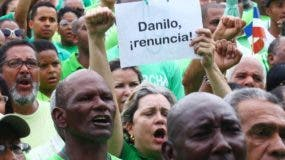 Grupos de la Marcha Verde pidieron la renuncia del Mandatario