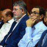 Algunos  de los   imputados que  apelaron  medidas de coerción emitida por el juez Francisco Ortega.
