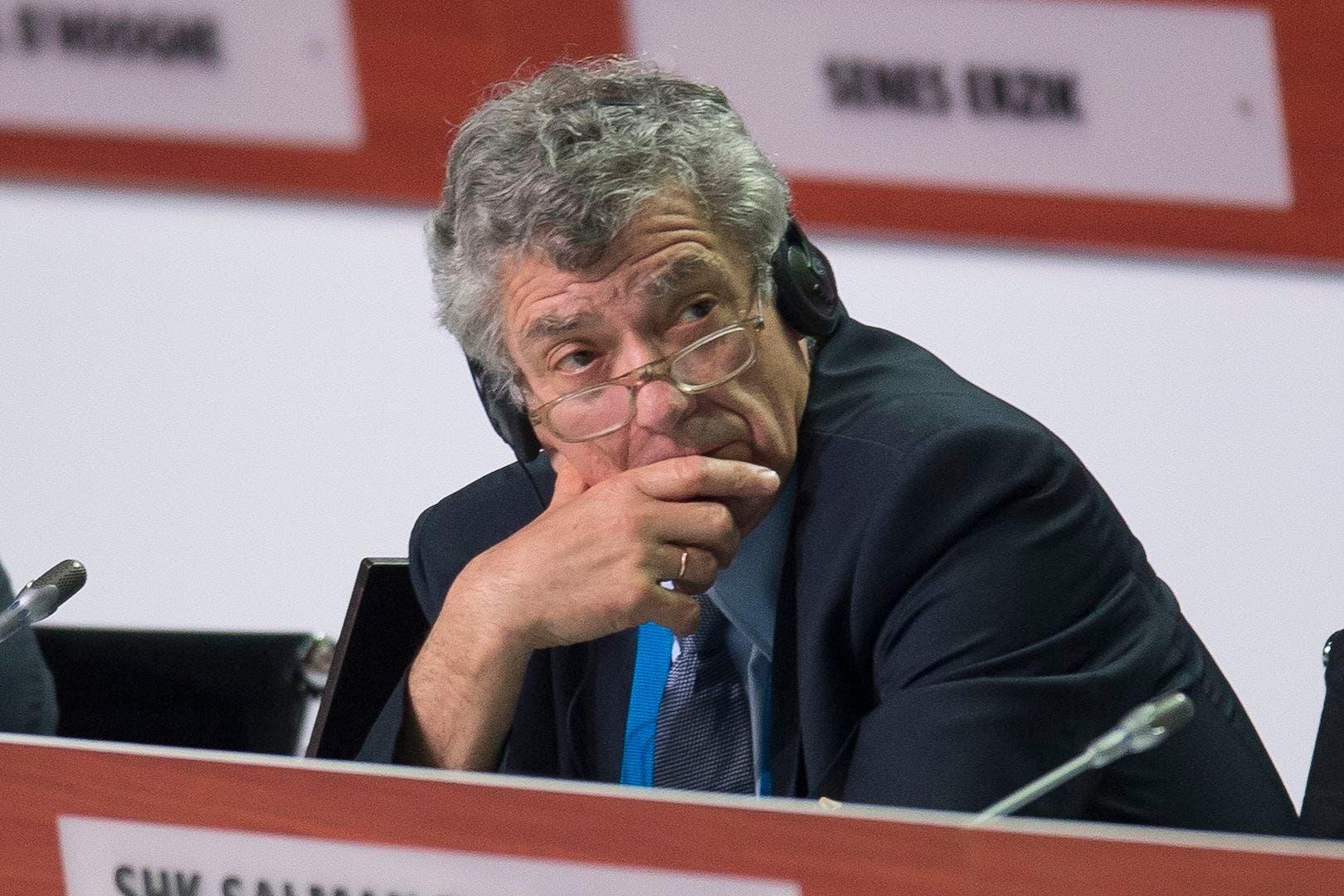 Detienen presidente de la Federación Española de Fútbol