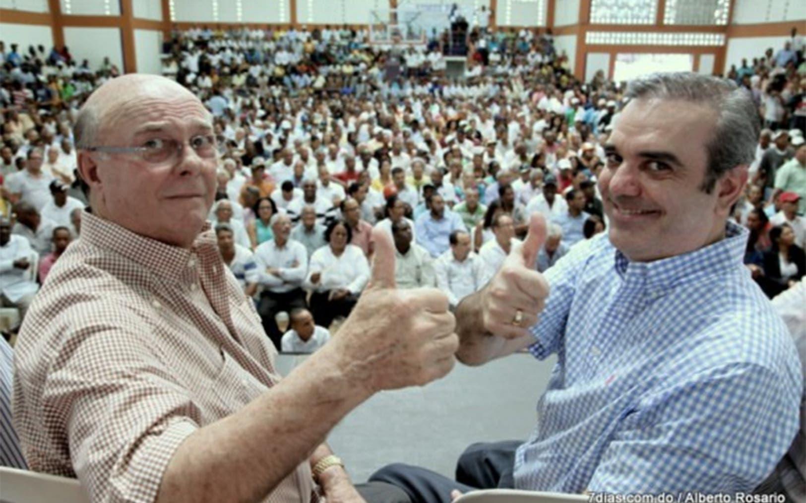 Expresidente Hipólito Mejía presenta a Eddy Olivares como vocero oficial del PRM