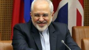 Mohammad Javad Zarif, canciller de Irán.