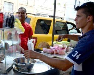 Comercio informal es una de sus principales fuentes de ingresos.