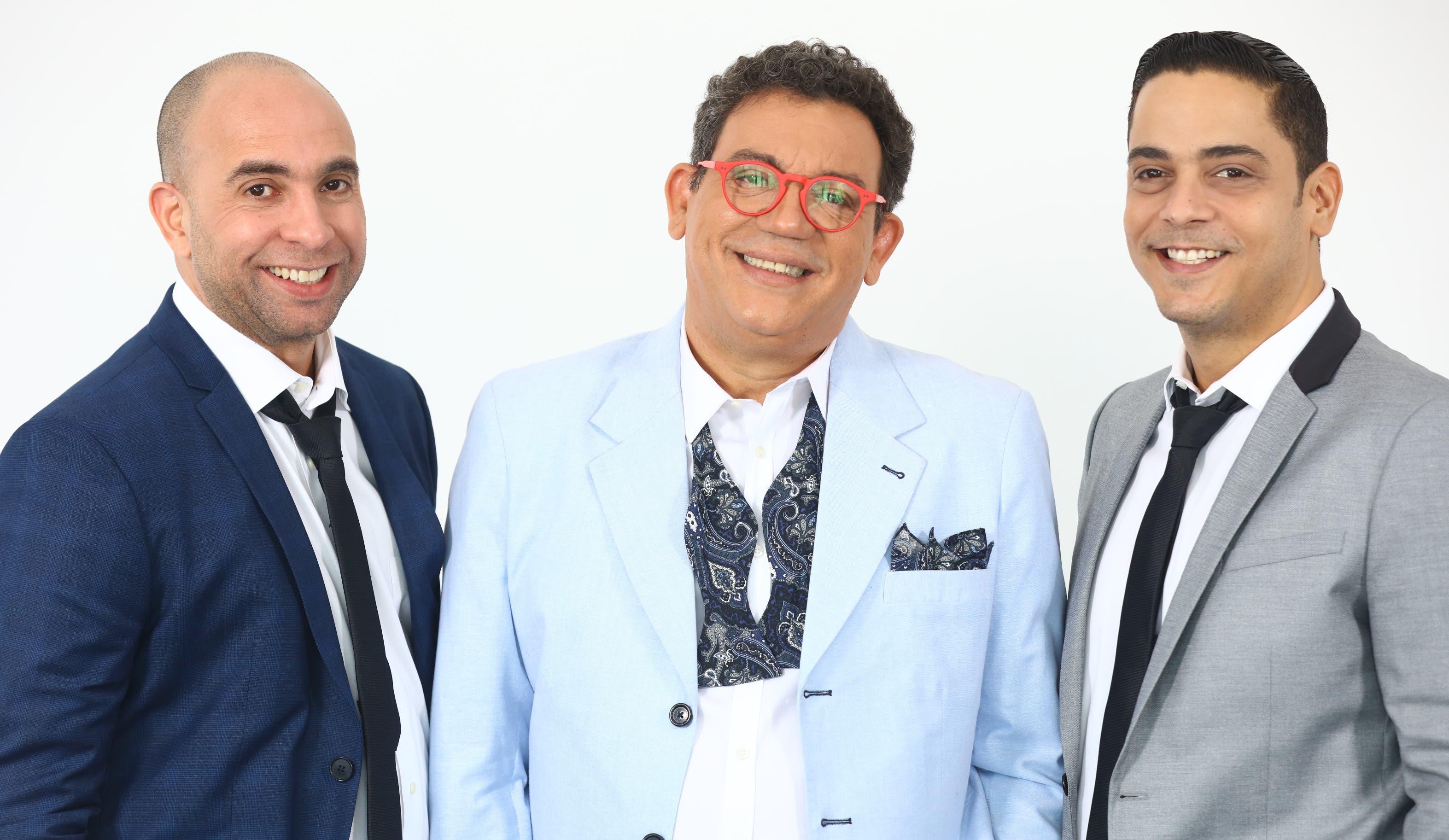 Irving Alberti,  Kenny Grullón y Luis José German.