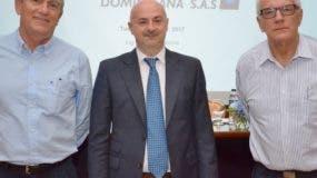 Thomas Pollehne, Paolo Stabellini y  José Carucci.