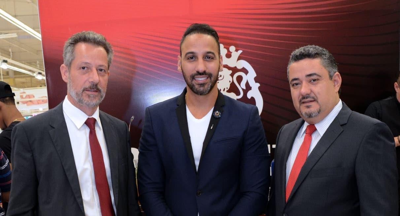 Oliver Pellín, Joel López y Gerardo García.