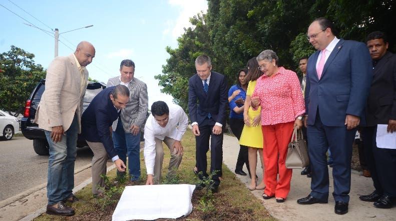 Alcaldía del Distrito Nacional inaugura trabajos en el Parque Mirador del Sur
