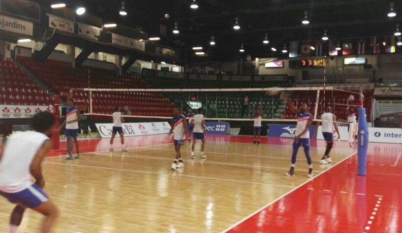 República Dominicana contra Cuba en Panam Voleibol