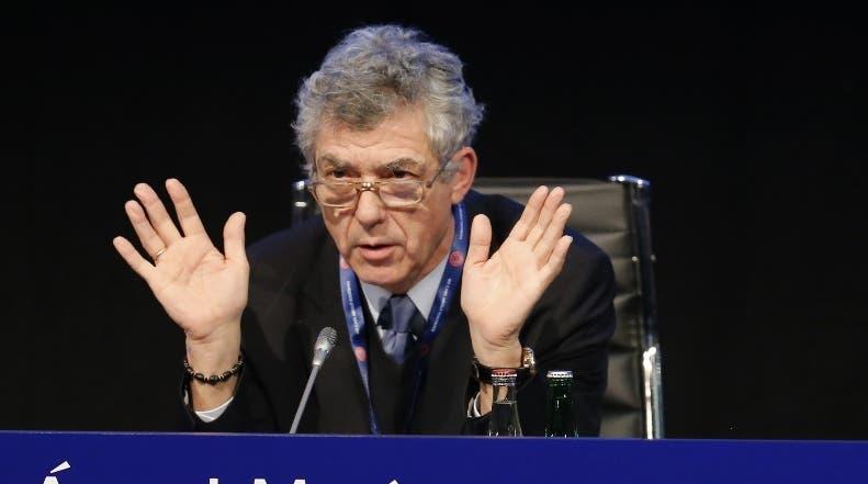 Ángel María Villar, presidente de la Federación Española Fútbol.