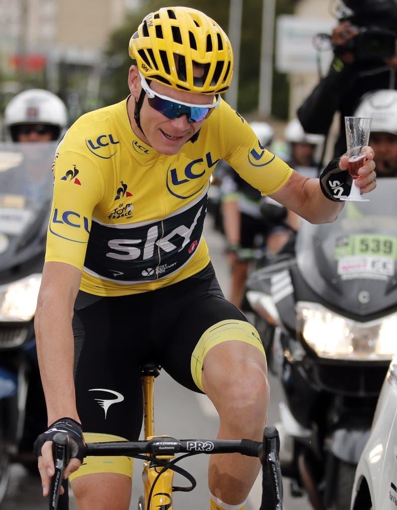 Británico Froome se corona Tour Francia