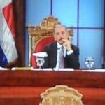 Los integrantes del Consejo Nacional de la Magistratura iniciaron la sesión de entrevistas a las cuatro de la tarde, encabezados por el presidente Danilo Medina, en el Palacio Nacional.