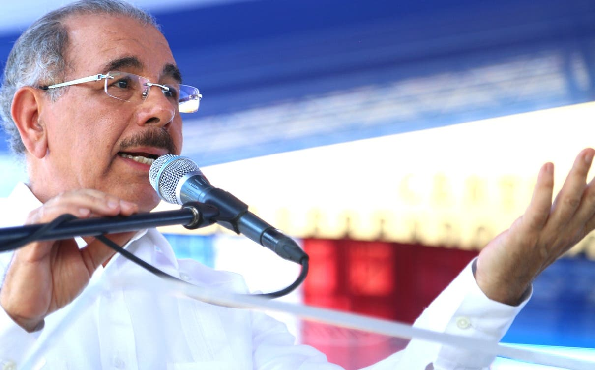 El presidente   Medina hizo un desglose  de los logros de su administración en beneficio del país.
