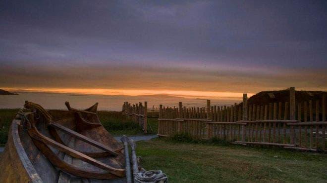 Primer asentamiento europeo en América (vikingo, no español)