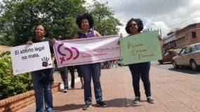 Representantes de Alianza Cristiana Dominicana que apoyan el aborto tras decisión Cámara de Diputados