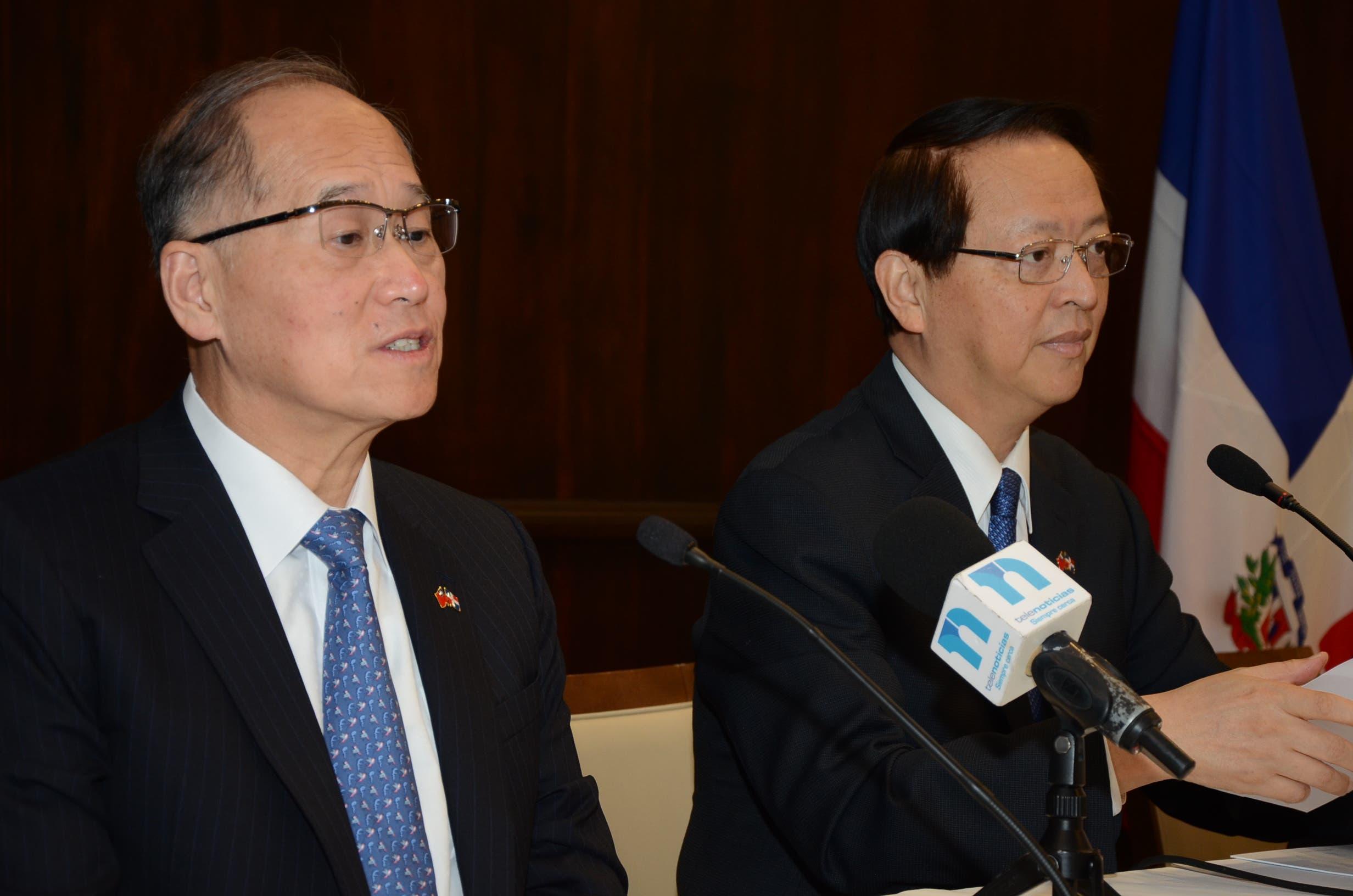 Canciller de Taiwán alerta sobre relación de RD con China Continental