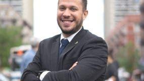 George Espinal, miembro de la Junta Consultiva de Vecindarios.
