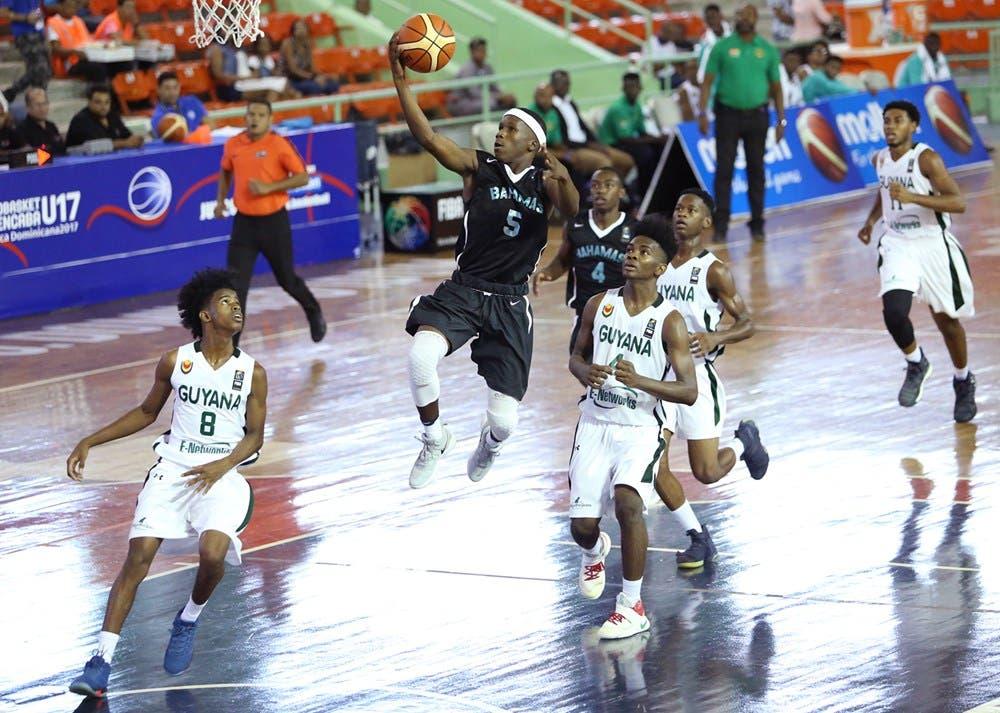 Bahamas inicia Centrobasket Sub-17 con aplastante triunfo ante Guayana