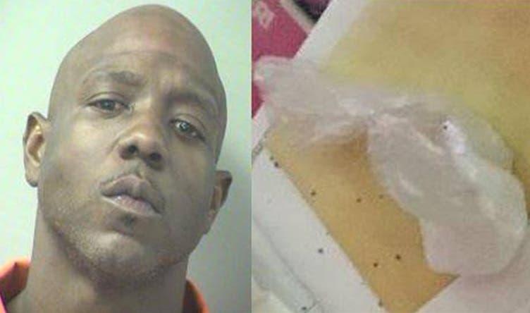 David Blackmon, de 32 años, llamó a la policía de Florida para reportar el robo de una bolsa de cocaína de su propiedad.