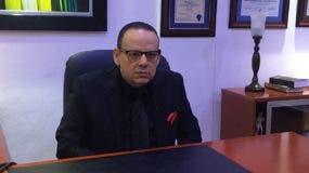 El presidente de la Fundación Justicia y Transparencia (FJT), Trajano Vidal Potentini.