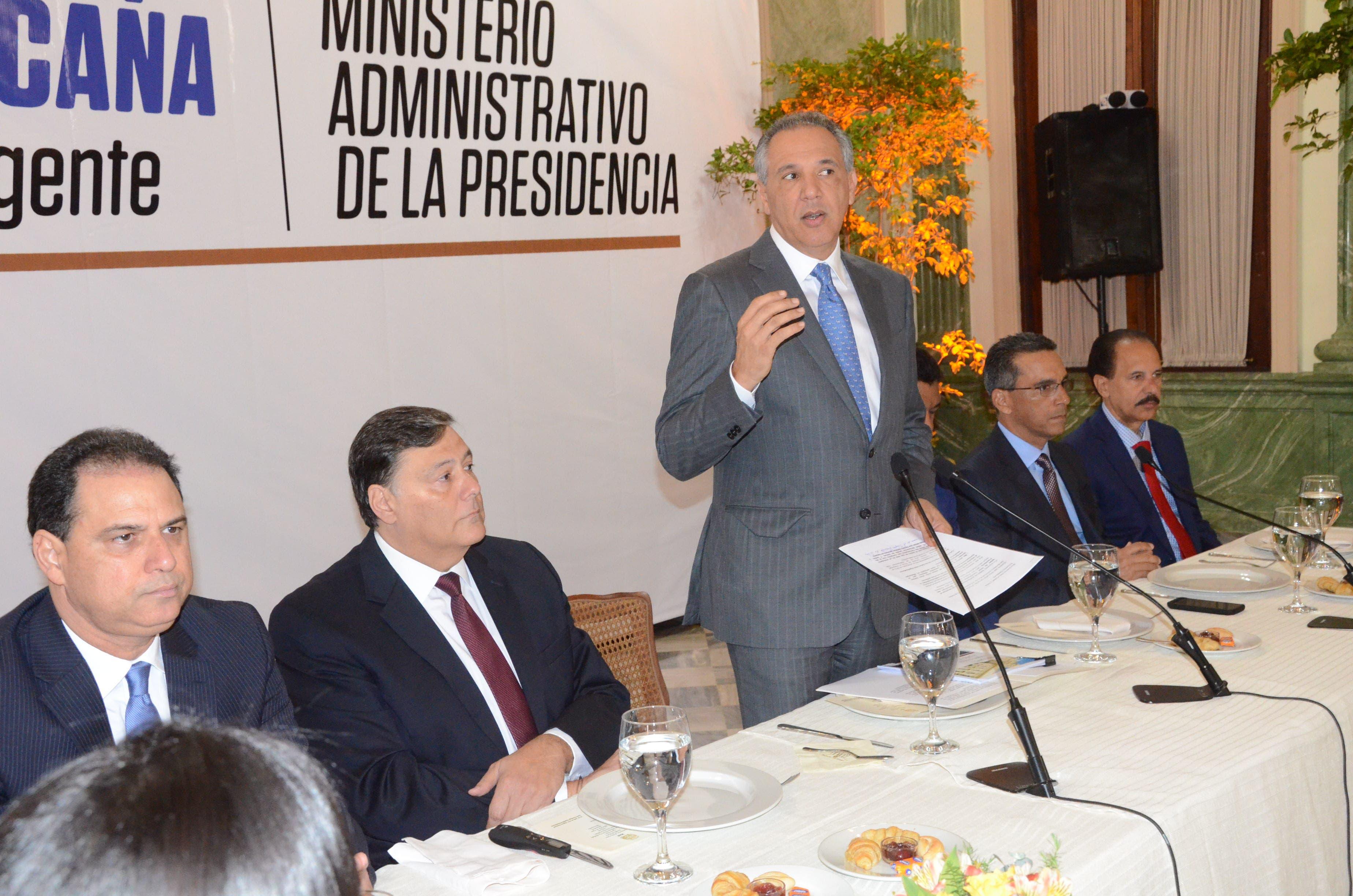 Peralta dice Ministerio Administrativo cumple con 97% de niveles de transparencia
