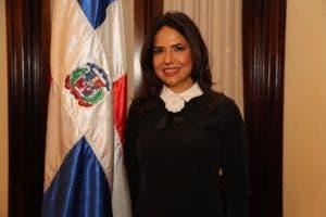 Rafaelina Peralta, miembro titular del TSE.