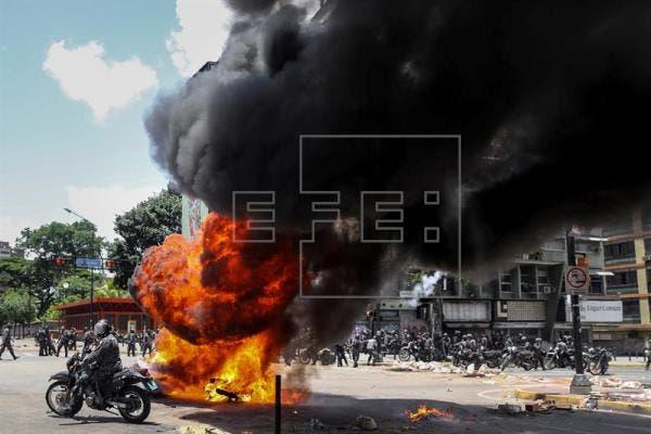 Suben a 5 los muertos en jornada de votación de la Constituyente en Venezuela