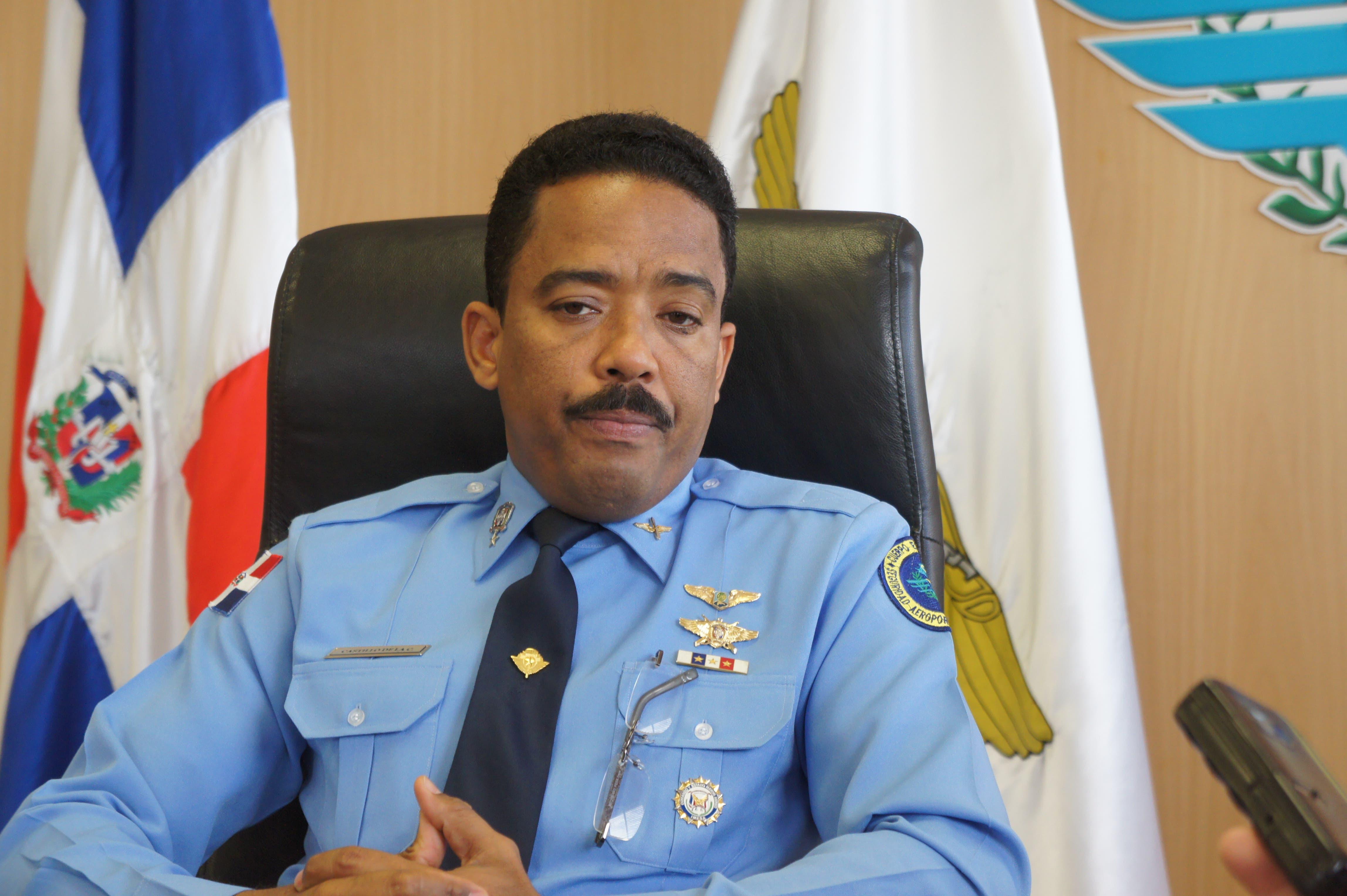 General de brigada Aracenis Castillo de la Cruz.