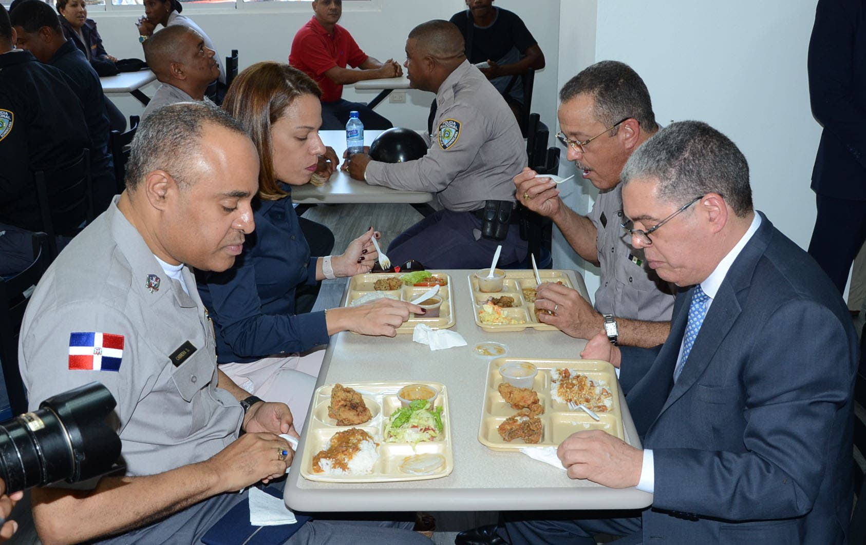 Policía Nacional inaugura comedor-cocina en la sede institucional