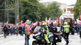 G20 Summit protest in Hamburg